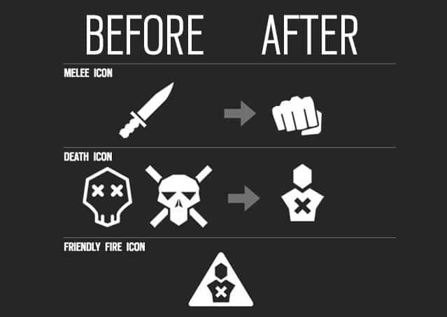 Визуальные изменения в Rainbow Six: Siege
