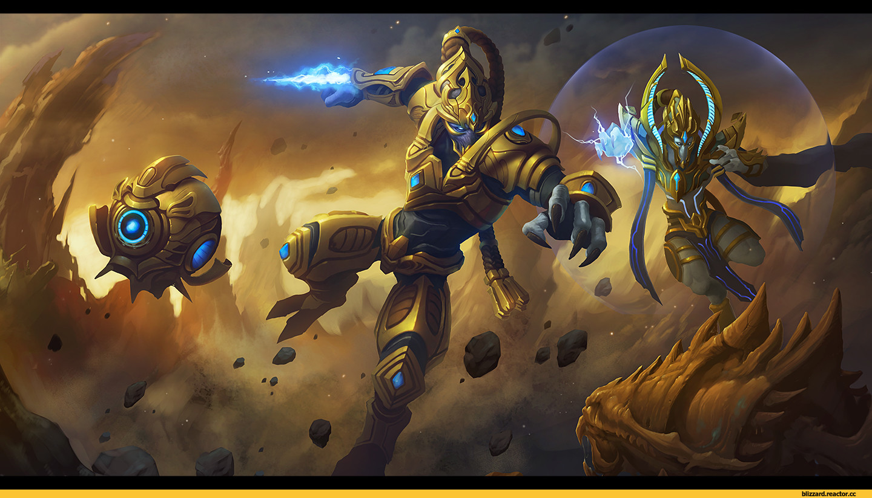 Базовые билды протоссов в StarCraft 2