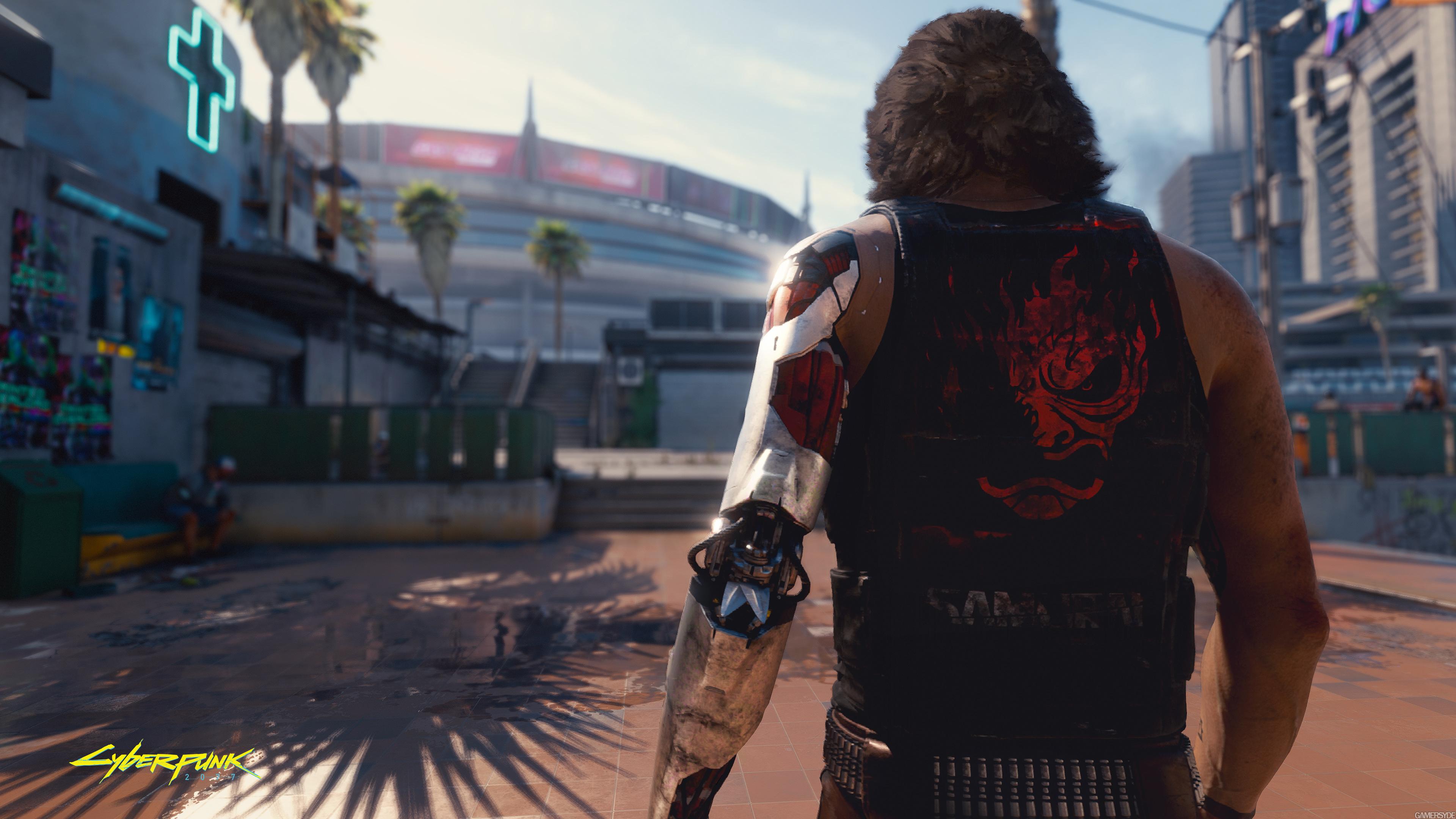 Cyberpunk 2077: скриншоты геймплея
