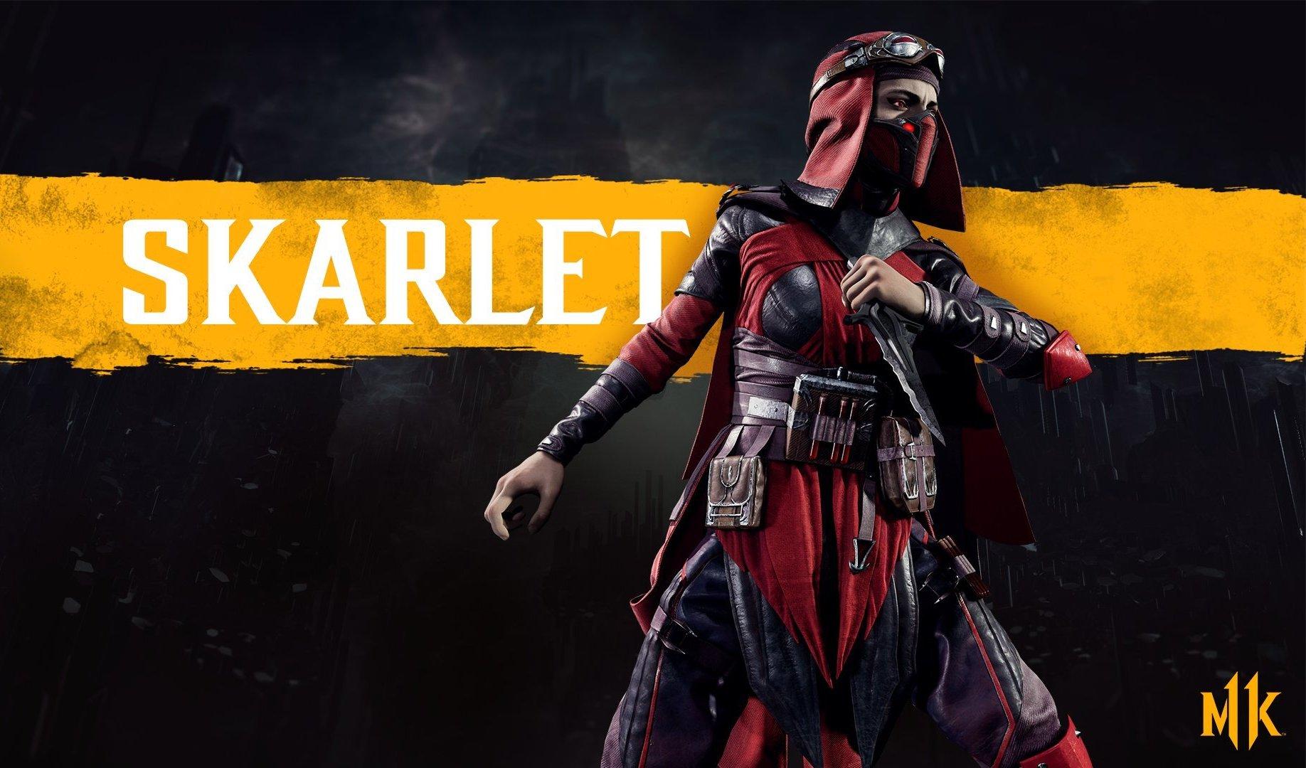 Комбинации Skarlet - Mortal Kombat 11