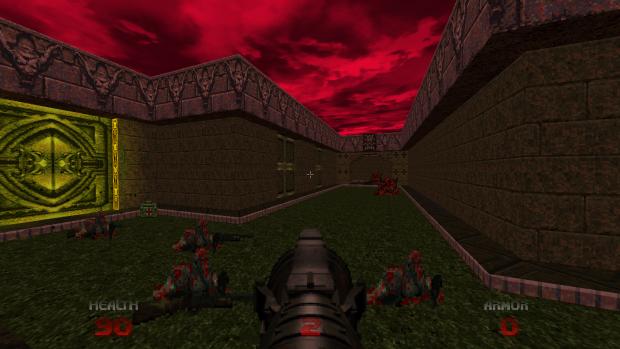 Геймплейный трейлер ремастера Doom 64